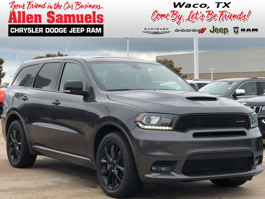 New 2018 Dodge Durango R T Sport Utility In Waco 18t60054 Allen 2013 Charger Beats Car Audio Wiring Color Codes