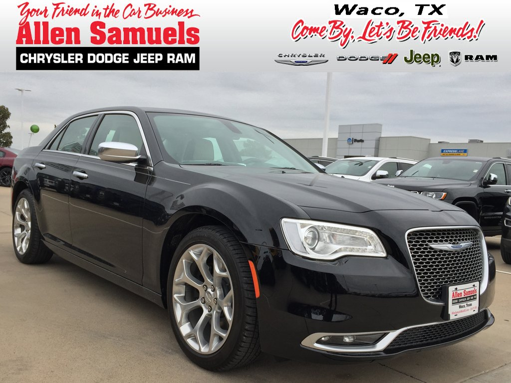 New 2019 Chrysler 300 300c Sedan In Waco 19c20006 Allen Samuels
