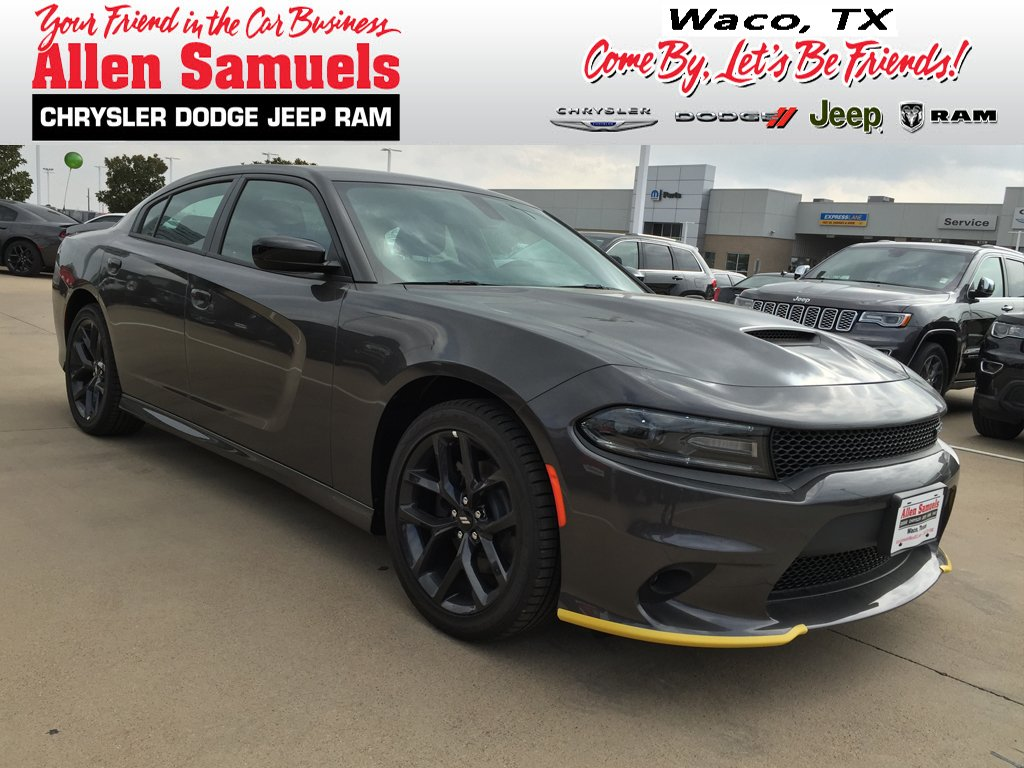New 2019 Dodge Charger Gt Sedan In Waco 19d40010 Allen Samuels