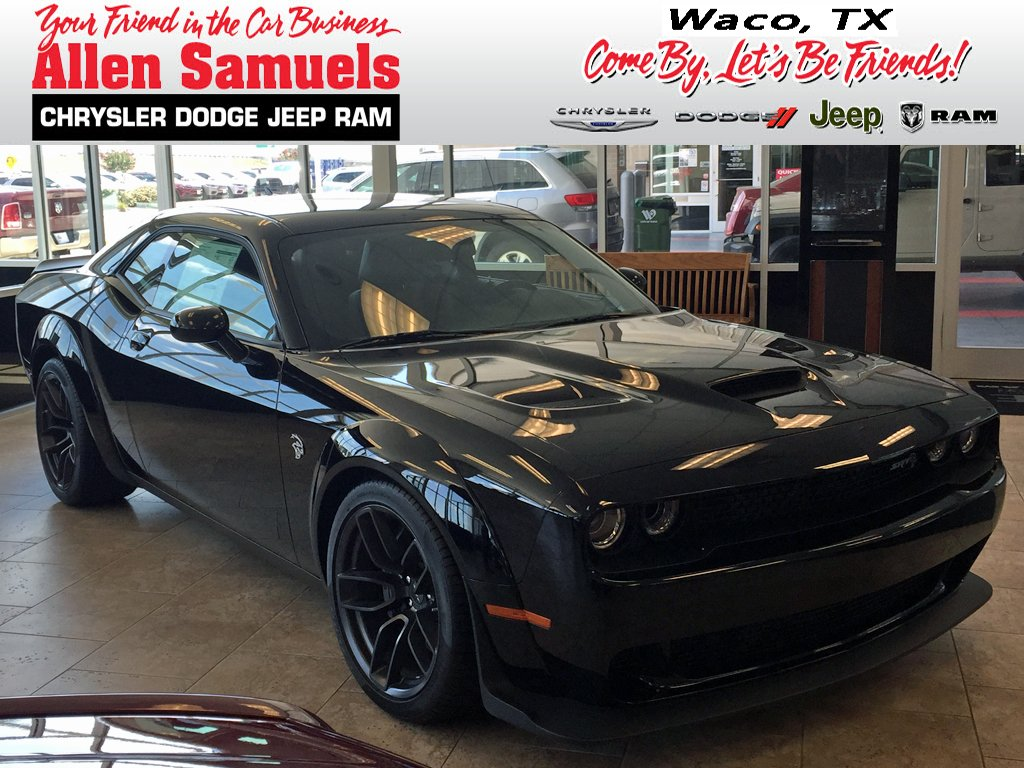 New 2018 Dodge Challenger Srt Hellcat Widebody Coupe In Waco