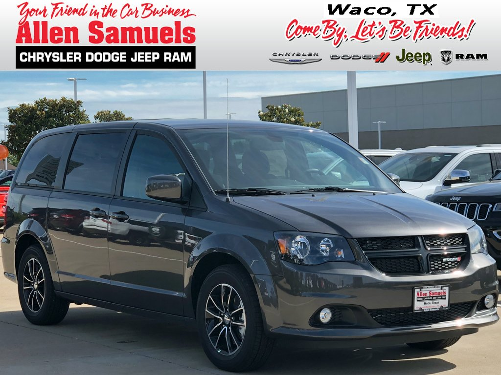 New 2019 Dodge Grand Caravan Se Plus Passenger Van In Waco 19t20003