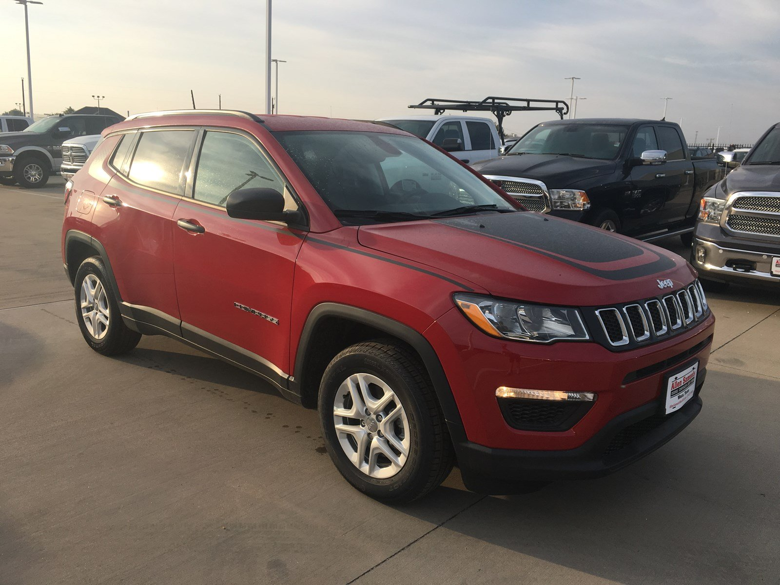 Allen Samuels Dodge >> New 2018 JEEP Compass Sport Utility in Waco #18J20028 | Allen Samuels Dodge Chrysler Jeep Ram FIAT