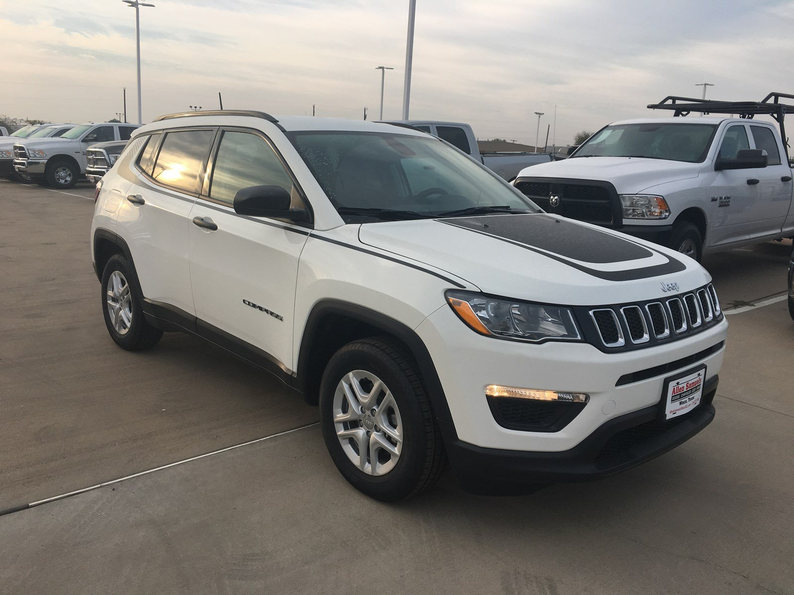 New 2018 Jeep Compass Sport Utility In Waco 18j20033