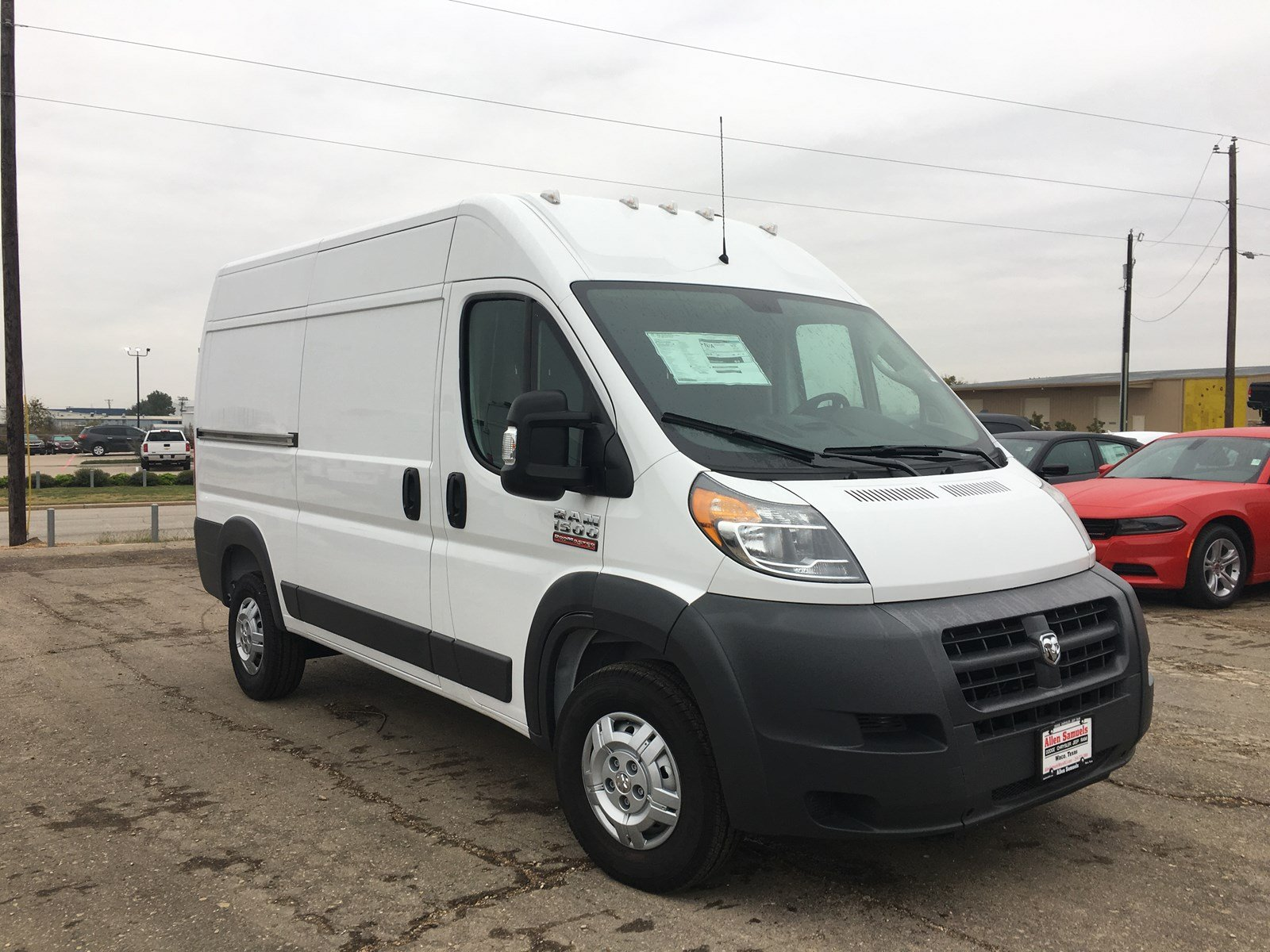 new 2018 ram promaster cargo van cargo van in waco 18t70004 allen samuels dodge chrysler jeep ram. Black Bedroom Furniture Sets. Home Design Ideas