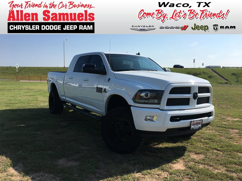 New Ram Mega Cab In Waco T Allen Samuels Dodge - Chrysler 2500