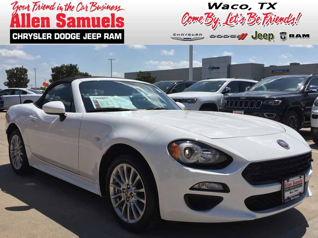 Certified Pre Owned 2017 Fiat 124 Spider Clica