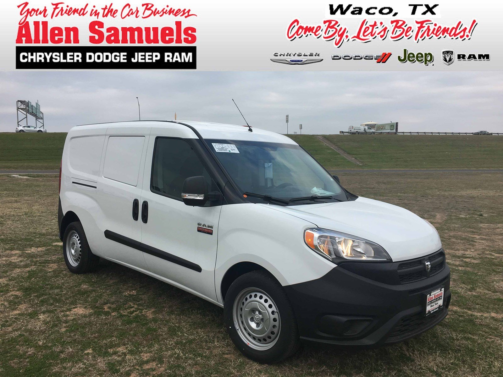new 2017 ram promaster city wagon cargo van in waco 17t70002 allen samuels dodge chrysler. Black Bedroom Furniture Sets. Home Design Ideas