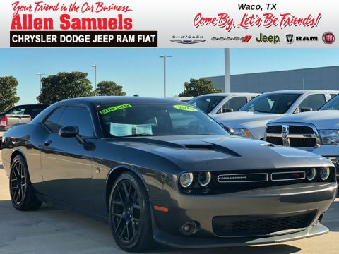 Certified Pre-Owned 2015 Dodge Challenger R/T SCAT PACK RWD 2dr Car