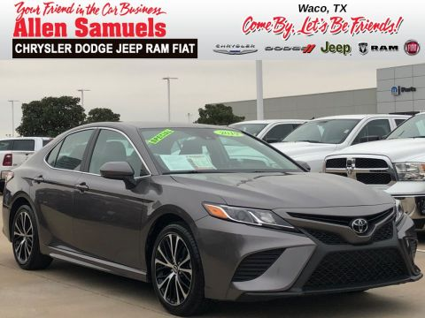 Pre-Owned 2019 Toyota Camry SE FWD 4dr Car